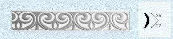 Плинтус P211 (цвет: серебро)