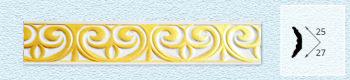 Плинтус P211 (цвет: золото)
