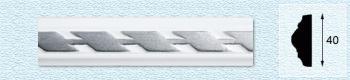 Плинтус Т41 (цвет: серебро)
