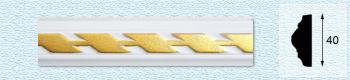 Плинтус Т41 (цвет: золото)