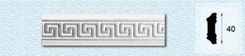 Плинтус Т43 (цвет: серебро)