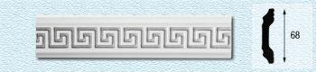 Плинтус Т68 (цвет: серебро)