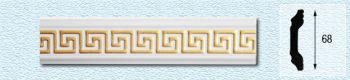 Плинтус Т68 (цвет: золото)
